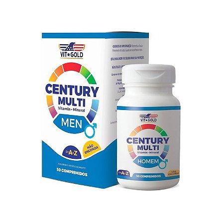 Multivitamínico Century Homem - 30 Comprimidos - VitGold