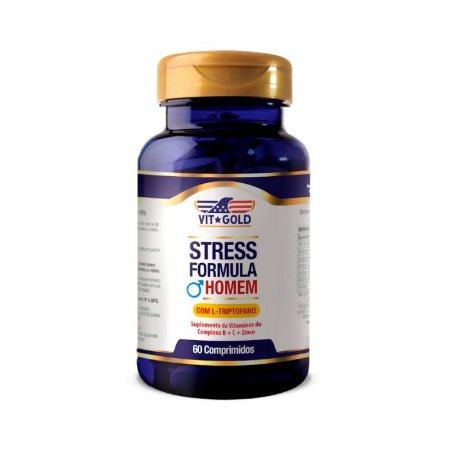Stress Formula Homem - 60 Comprimidos - VitGold