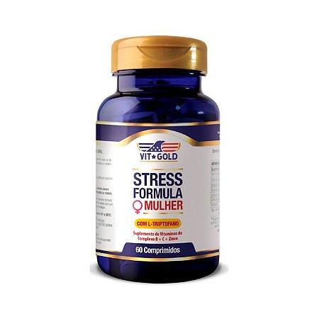 Stress Formula Mulher - 60 Comprimidos - VitGold