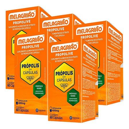 Melagrião Propolive - 5 unidades de 60 Cápsulas - Catarinense