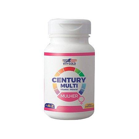 Multivitamínico Century Mulher - 90 Comprimidos - VitGold