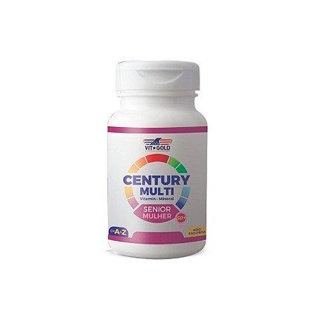 Multivitamínico Century Senior Mulher - 90 Comprimidos - VitGold
