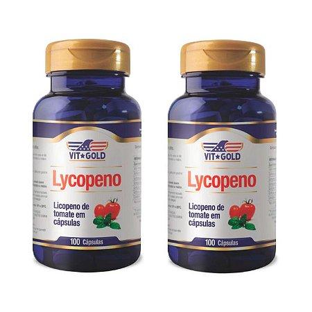 Licopeno de Tomate - 2 unidades de 100 Cápsulas - VitGold