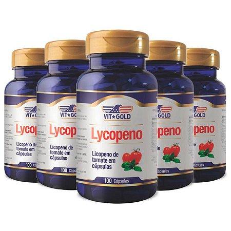 Kit Licopeno De Tomate VitGold Suplemento 500 Cáps