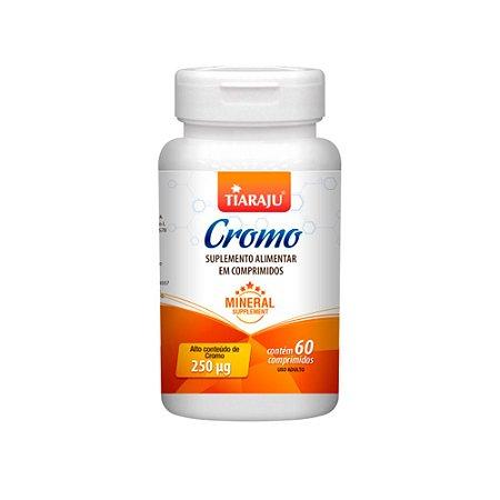 Picolinato De Cromo 250mcg Tiaraju Suplemento 60 Comprimidos
