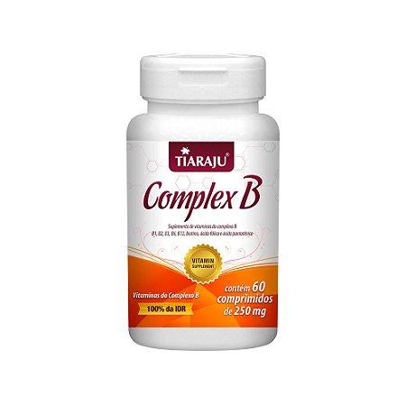 Vitaminas do Complexo B - 60 Comprimidos - Tiaraju