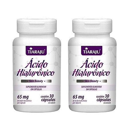 Ácido Hialurônico - 2 unidades de 30 Cápsulas - Tiaraju