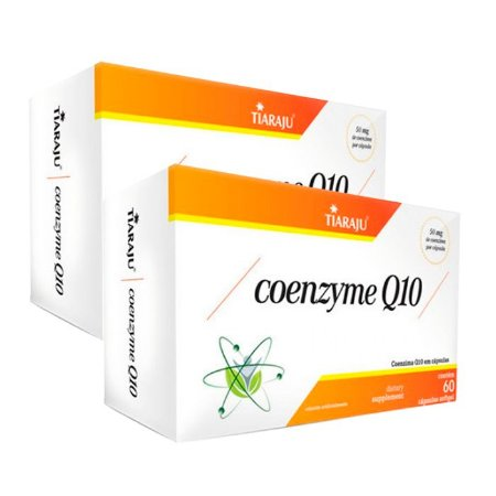 Coenzyme Q10 - 2 unidades de 60 Cápsulas - Tiaraju