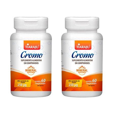 Picolinato de Cromo 250mcg - 2 unidades de 60 Comprimidos - Tiaraju