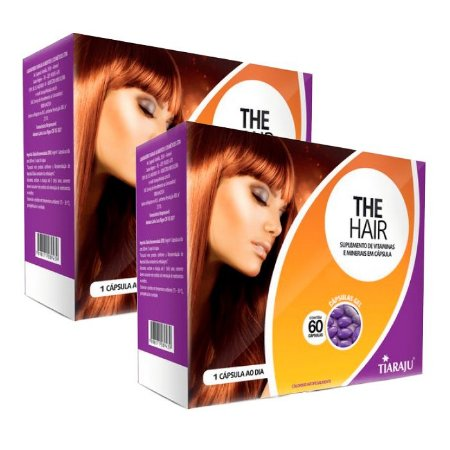 The Hair - 2 unidades de 60 Cápsulas - Tiaraju