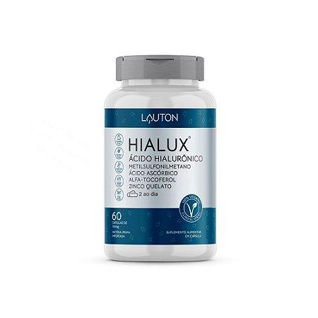 Hialux Ácido Hialurônico - 60 Cápsulas - Lauton