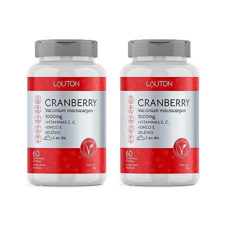 Kit Cranberry Premium Lauton Oxicoco Vitam C 120 Comprimidos