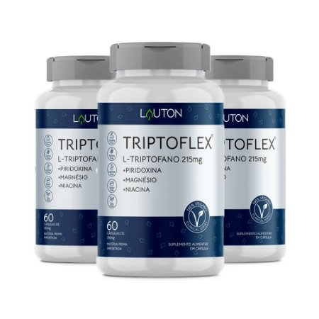 KitTriptoflex L-Triptofano Lauton Suplemento 180 Cápsulas