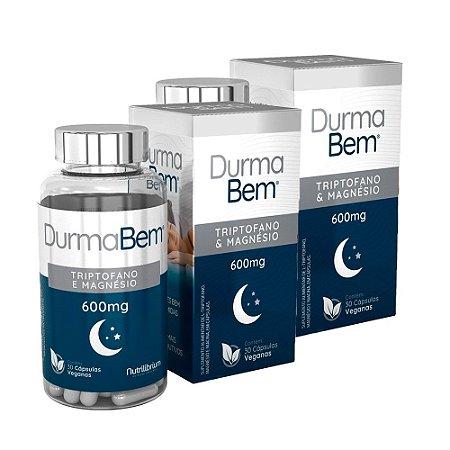 Kit Durma Bem L-Triptofano Com Magnésio Nutrilibrium 60 Cáps