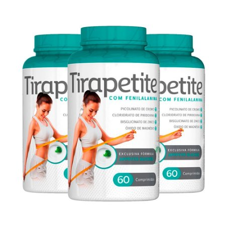 Tirapetite - 3 unidades de 60 Comprimidos - Nutrilibrium