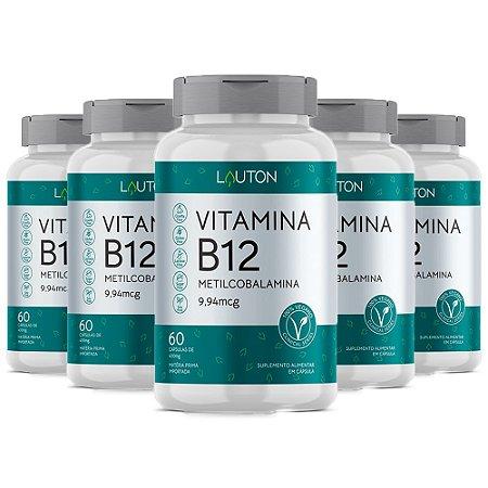 KitVitamina B12 Metilcobalamina 9,5mg Lauton 240 Cápsulas