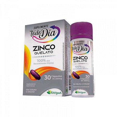 Zinco Quelato - 30 Cápsulas - Katiguá STD