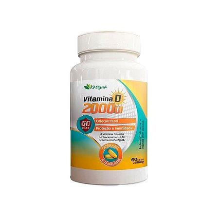 Vitamina D 2000 UI Katiguá Colecalciferol 60 Cápsulas