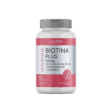 Biotina Plus - 60 Cápsulas - Lauton