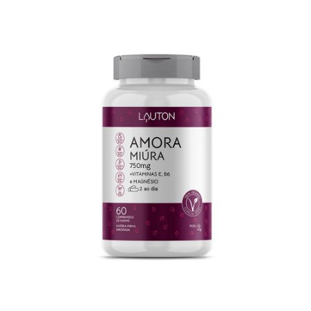 Amora Miúra com Vitaminas - 60 Comprimidos - Lauton