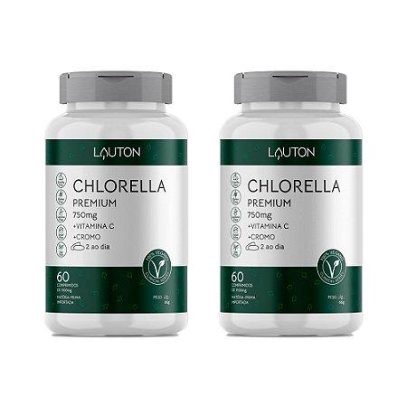 Chlorella Premium - 2 unidades de 60 Comprimidos - Lauton