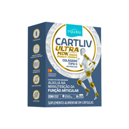 Cartiliv Ultra MDK - 30 Cápsulas - Equaliv