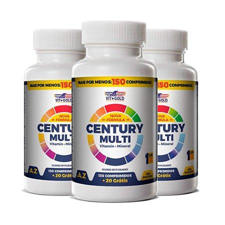 KitPolivitamínico Century Multi VitGold 450 Comprimidos