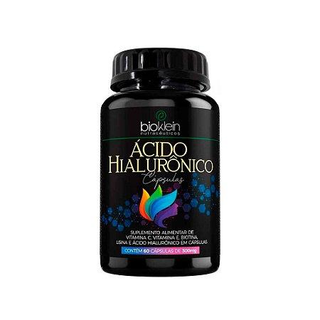 Ácido Hialurônico - 60 Cápsulas - Bioklein