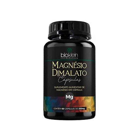 Magnésio Dimalato Bioklein Ácido Málico 60 Cápsulas