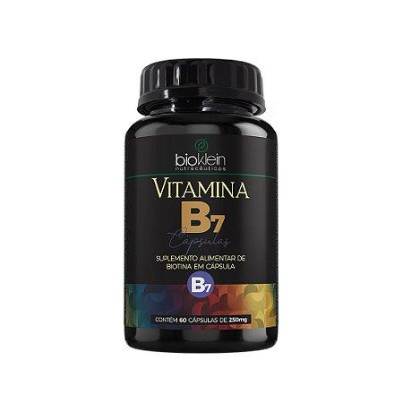 Vitamina B7 Biotina Bioklein Suplemento 60 Cápsulas