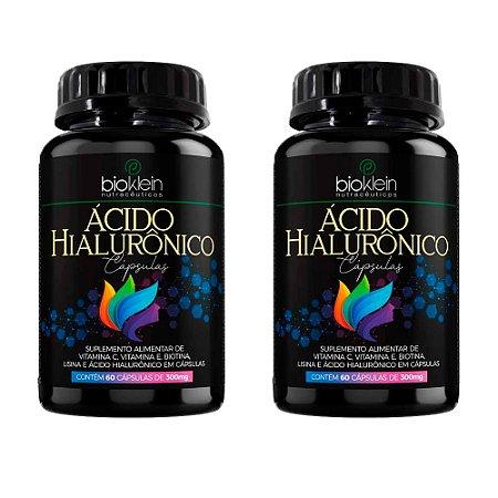 Ácido Hialurônico - 2 unidades de 60 Cápsulas - Bioklein