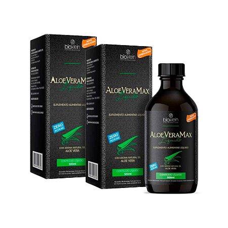 Aloe Vera Max Babosa Líquida - 2 unidades de 500ml - Bioklein