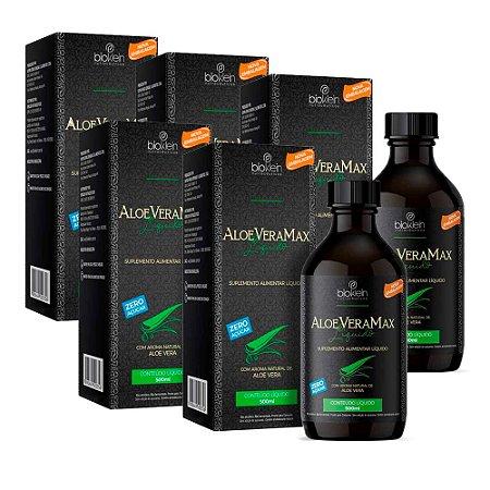 Aloe Vera Max Babosa Líquida - 5 unidades de 500ml - Bioklein