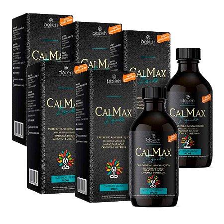 Calmax Calmante Natural Líquido - 5 unidades de 500ml - Bioklein