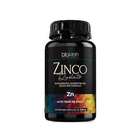 Zinco Quelato Concentrado - 60 Cápsulas - Bioklein