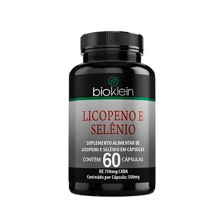 Licopeno e Selênio - 60 Cápsulas - Bioklein
