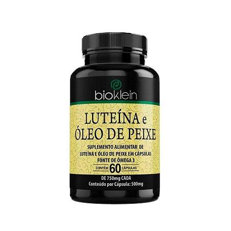 Luteína e Óleo de Peixe - 60 Cápsulas - Bioklein