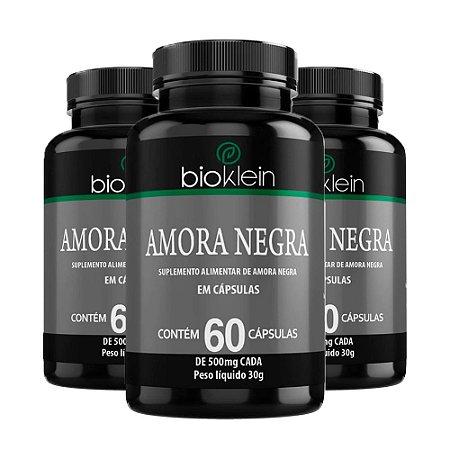 Amora Negra - 3 unidades de 60 Cápsulas - Bioklein