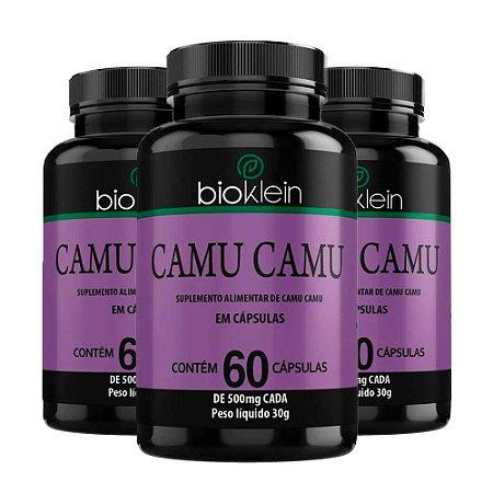 Camu Camu - 3 unidades de 60 Cápsulas - Bioklein