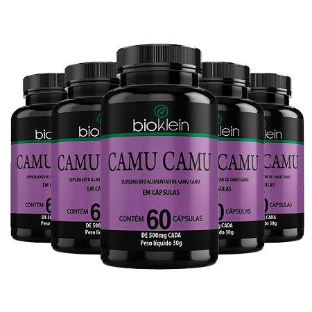 Camu Camu - 5 unidades de 60 Cápsulas - Bioklein