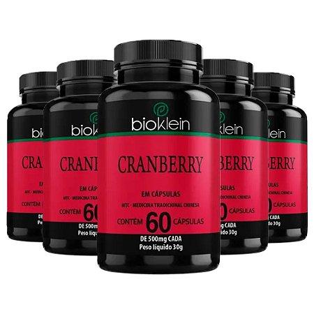 Kit Cranberry Bioklein Oxicoco Suplemento Sem Sabor 300 Cáps
