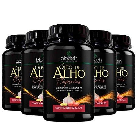 Óleo de Alho - 5 unidades de 60 Cápsulas - Bioklein