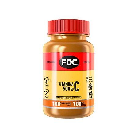 Vitamina C 500mg - 100 Comprimidos - FDC