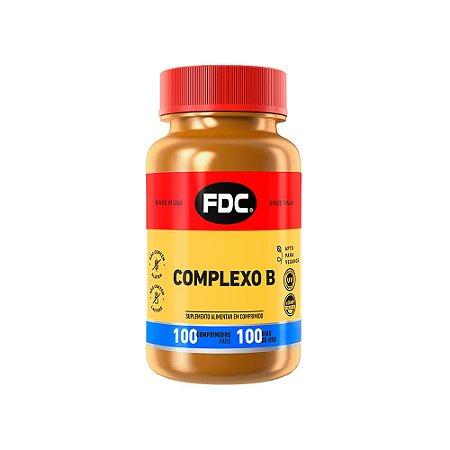 Complexo B - 100 Comprimidos - FDC
