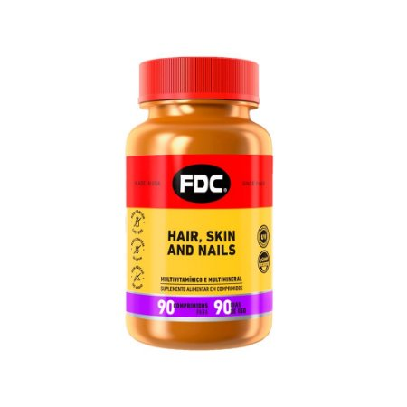 Hair Skin and Nails - 90 Comprimidos - FDC