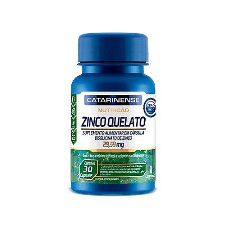 Zinco Quelato Ultra Concentrado Catarinense 30 Cápsulas