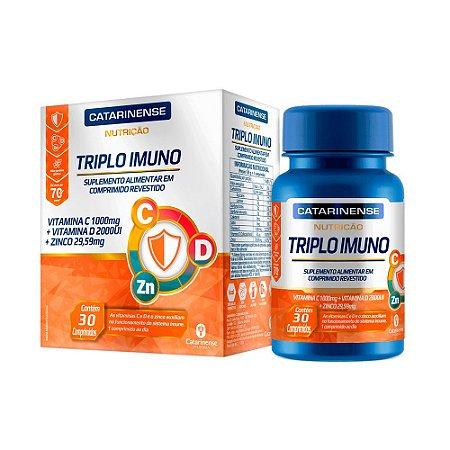 Triplo Imuno Catarinense Ultra Concentrado 30 Comprimidos