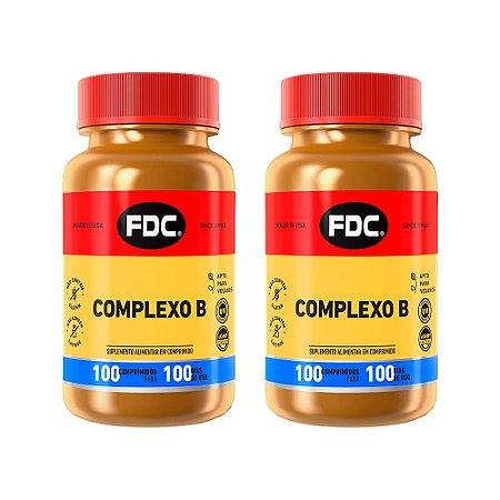 Complexo B - 2 unidades de 100 Comprimidos - FDC