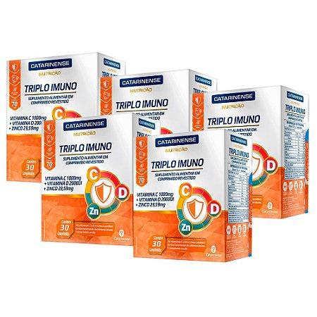 KitTriplo Imuno Catarinense Ultra Concentrado 150 Comp