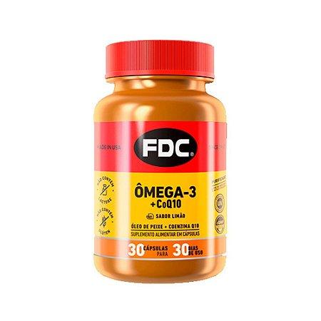 Ômega 3 + Coenzima Q10 - 30 Cápsulas - FDC